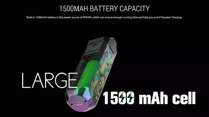 RPM40 Batterie