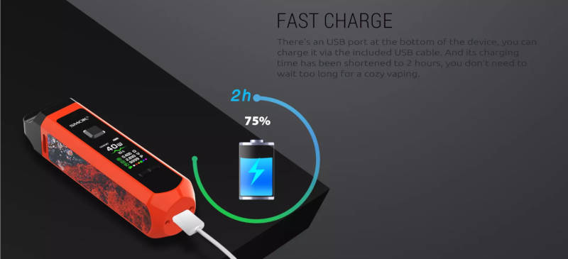 RPM40 Fast charge